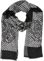 Etro Silk Patterned Scarf