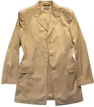Marella Beige Cotton Jacket for Women