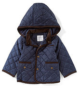 Starting Out Baby Boys 12-24 Months Quilted Hooded Jacket
