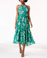 Jessica Howard Floral Tiered Maxi Dress