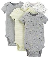 Precious Firsts Made by Carter's®; Just One You Made by Carter's Baby Boys' 4-Pack Bodysuit - Green