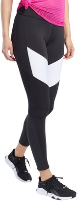 Reebok Women's Training Supply Lux 2.0 Midrise Colorblock Leggings