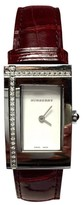 Burberry Stainless Steel White Dial 20.15 mm Womens Watch