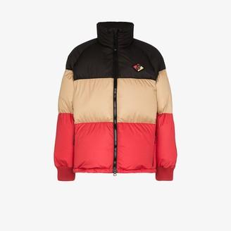 Burberry Branston colour block puffer jacket
