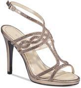 Caparros Heather Embellished Strappy Evening Sandals