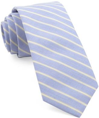 Tie Bar Marina Stripe Yellow Tie