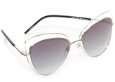 Marc Jacobs Double Rim Cat Eye Sunglasses