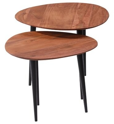 Thumbnail for your product : Corrigan Studio Varastad 3 Legs 2 Nesting Tables