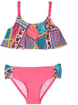 Gossip Girl Girls 7-16 Whimsical Patchwork Two-Piece Bikini