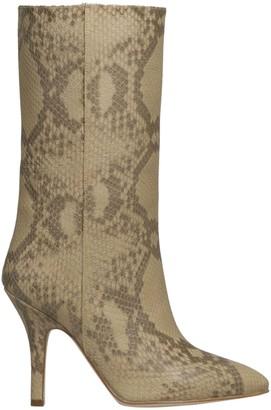 Paris Texas Stiletto Mid Heel Boot