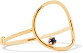 Sarah & Sebastian - Stone Bubble 14-karat Gold Sapphire Ring - medium