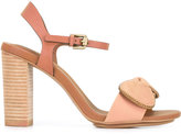 See by Chloe ankle strap stacked heel sandals - women - Leather - 37