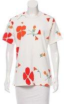 Rodarte Floral Print Knit Top