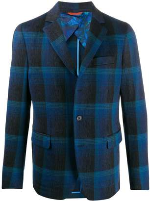 Missoni checked fitted blazer