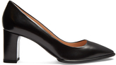 Tod's Point-toe block-heel leather pumps