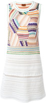 Missoni fitted patchwork dress - women - Silk/Cotton/Nylon/Wool - 42