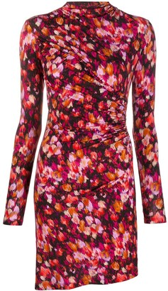 Patrizia Pepe Floral-Print Fitted Dress