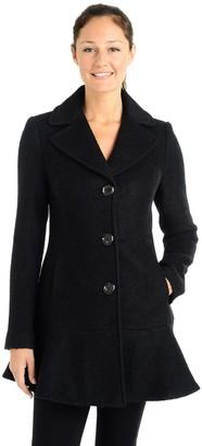 Fleet Street Women's Tailored Long Coat