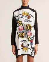 Moschino Ivory & Black Queen Dress