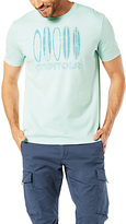 Dockers Graphic Capitola Surfboard Print T-shirt, Starlight Blue