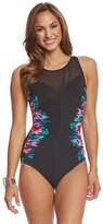 Miraclesuit Tahitian Temptress Fascination Underwire One Piece Swimsuit 8161331