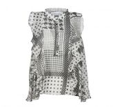 Iro . Jeans Iro Houndstooth Pattern Blouse