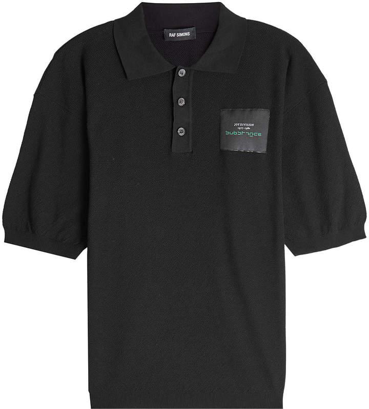 Raf Simons Cotton Polo Shirt