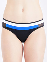 Jets Electrify mesh-panelled bikini bottoms