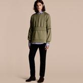 Burberry Puff-sleeved Cotton Blend Jersey Sweatshirt