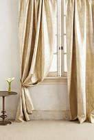 Anthropologie Gilded Waves Curtain