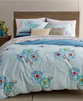Martha Stewart Collection Whim by Martha Stewart Collection Flower Hour 3-Pc. Full/Queen Comforter Set, Created for Macy's
