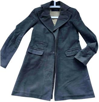 DSQUARED2 Khaki Wool Coat for Women