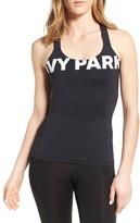 Ivy Park Women's Logo Mesh Inset Tank