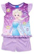 AME Sleepwear Little Girl's & Girl's Frozen Two-Piece Set