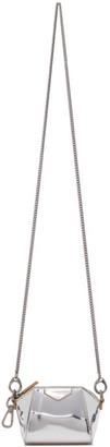 Givenchy Silver Baby Antigona Bag