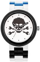 Lego Skull Analog Interchangeable Band Watch - White