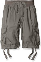 Southpole Big Boys' Jogger Shorts with Cargo Pockets in Basic Solid Colors