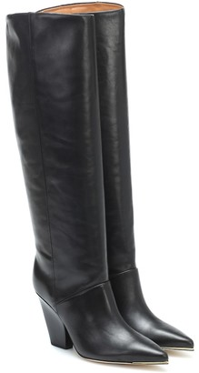 Tory Burch Lila leather knee-high boots
