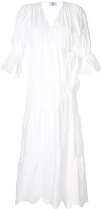 Sir. Delilah wrap midi dress