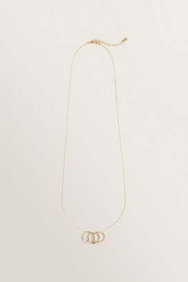 Seed Heritage Trio Circle Necklace