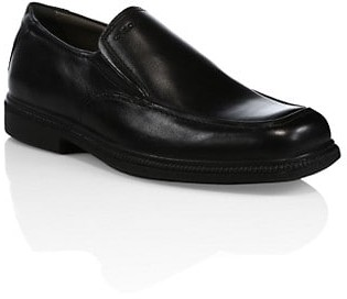 Geox Boy's Leather Slip-On Dress Shoes