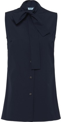 Prada Sleeveless Button-Up Shirt