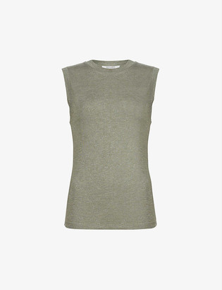 AllSaints Imogen sleeveless stretch-jersey top