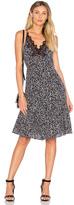 Rebecca Taylor Sleeveless Pop Flower Slip Dress