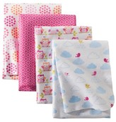 Circo 4pk Flannel Receiving Blankets - Up We Go