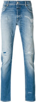Closed distressed slim fit jeans