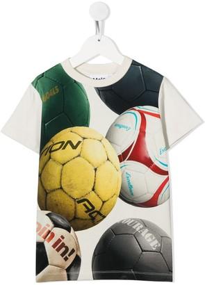 Molo Kids football print T-shirt