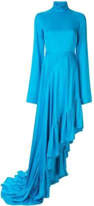SOLACE London Marlee mock neck dress