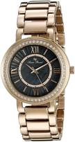 Lucien Piccard Women's LP-11902-RG-11MOP Analog Display Gold-Tone Watch