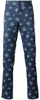 Paul & Joe floral print trousers - men - Wool - M